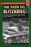 The Path to Blitzkrieg PDF