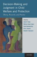 Decision Making and Judgment in Child Welfare and Protection PDF