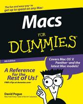 Macs For Dummies: Edition 8
