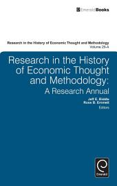Research in the History of Economic Thought and Methodology: A Research Annual