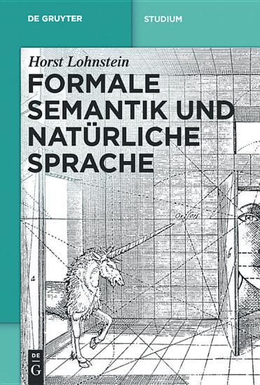 Formale Semantik und nat  rliche Sprache PDF