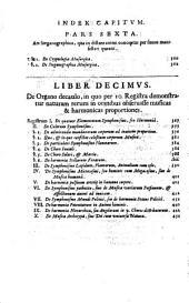 Athanasii Kircheri Fuldensis e Soc. Iesu presbyteri Musurgia universalis, sive, Ars magna consoni et dissoni in X libros digesta: Volume 2