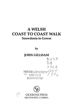 A Welsh Coast to Coast Walk