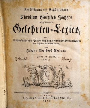 Allgemeines Gelehrten Lexicon0 PDF