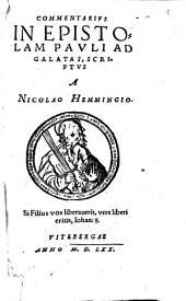 Commentarius in epistolam Pauli ad Galatas