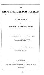 The Edinburgh Literary Journal