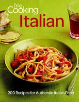 Fine Cooking Italian PDF
