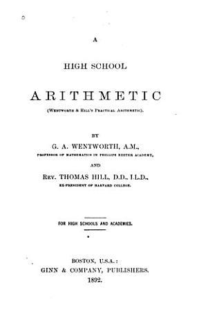A High School Arithmetic PDF