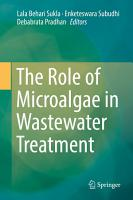 The Role of Microalgae in Wastewater Treatment PDF