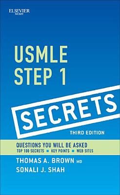 USMLE Step 1 Secrets E Book PDF