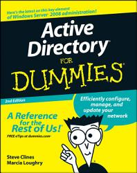 Active Directory For Dummies Book PDF