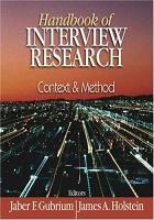 Handbook of Interview Research PDF