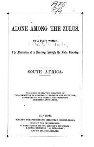 Alone Among the Zulus PDF