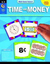 Math Games Galore: Time and Money, Gr. K, eBook: Time and Money