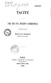Vie de Cn. Julius Agricola