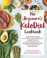 The Beginner s KetoDiet Cookbook PDF