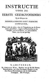 Artikel-brief van de geoctroyeerde Nederlandsche Oost-Indische Compagnie, by de [...] Staten Generaal [...] den vierden september, 1742. gearresteert