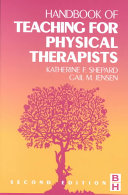 Handbook of Teaching for Physical Therapists PDF