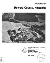 Soil survey of Howard County, Nebraska