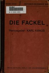 Die Fackel: Ausgaben 261-269