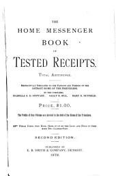 The Home Messenger Book of Tested Receipts