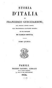 Storia d'Italia: Volume 5