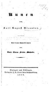 Runen von K. A. N. Aus dem Schwedischen von G. C. F. Mohnike
