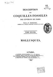 Description des coquilles fossiles des environs de Paris: Mollusques, Volume2
