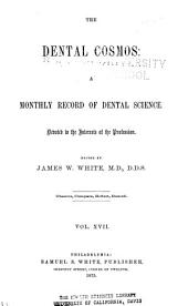 The Dental Cosmos: Volume 17