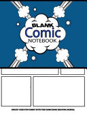 Blank Comic Notebook   Create Your Own Comics with This Comic Book Drawing Journal