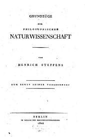 Grundzüge der philosophischen Naturwissenschaft: zum Behuf seiner Vorlesungen