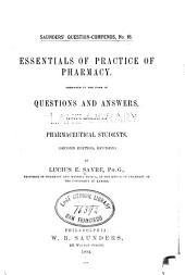 Essentials of practice of pharmacy