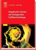Organische Chemie der biologischen Stoffwechselwege PDF
