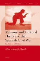 Memory and Cultural History of the Spanish Civil War PDF