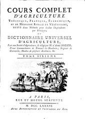 Cours complet d'agriculture, théorique, pratique, économique, et de médecine rurale et vétérinaire; suivi d'une méthode pour étudier l'agriculture par principes; ou Dictionnaire universel d'agriculture: Volume6