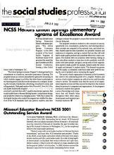 The Social Studies Professional PDF