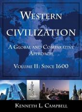 Western Civilization: A Global and Comparative Approach
