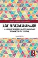 Self Reflexive Journalism PDF