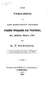 Op den verjaardag van zijne doorluchtige hoogheid Prins Willem de Vijfde, den achtsten maart 1798