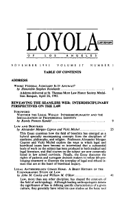 Loyola of Los Angeles law review PDF