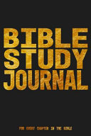 Bible Study Journal For Every Chapter In The Bible Book PDF