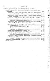 Collective Agreements in the Men's Clothing Industry