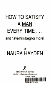How to Satisfy a Man Every Time PDF