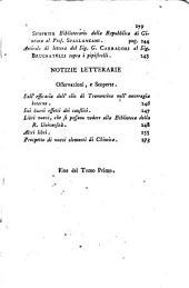 Giornale fisico-medico: per servire di seguita alla Biblioteca Fisica d'Europa, Volume 1