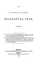 the latter day saints millenial star PDF