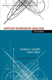 Applied Regression Analysis: Edition 3