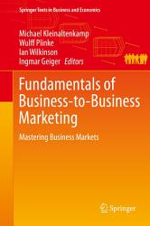 Fundamentals of Business to Business Marketing PDF
