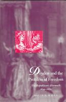 Dryden and the Problem of Freedom PDF