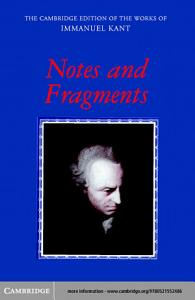 Notes and Fragments Book