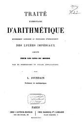 Traité eĺémentaire d'arithmétique complété pour les gens du monde